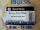 BRIESS SPARKLING AMBER DRY MALT EXTRACT DME - Pick 8 oz. - 12 lbs. Beer Brew