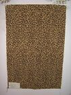 Lee Jofa fabric remnants for crafts leopard Durbar Leopard Epingle Multiple clrs