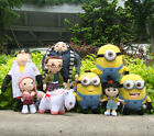 Despicable Me 2 Plush Toy 9 Movie Figures Cuddly Cute Stuffed Animal Doll New