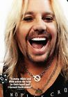 VINCE NEIL Motley Crue PHOTO Print POSTER Final Tour Too Fast For Love Girls 001