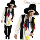 Mens 80s Pop Star Boy George Fancy Dress Costume Adult Culture Club Outfit