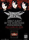 BABYMETAL Ijime, Dame, Zettai PHOTO Print POSTER Live Budokan London Shirt CD 01