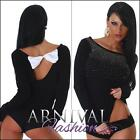 NEW SEXY WOMENS FASHION STUDDED JUMPERS ladies KNIT TOP online shopping SWEATERS