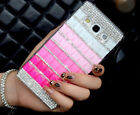 Elegant Bling Gradient Crystal Handmade Back Cover Case For Samsung Galaxy