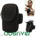 Universal Black Sports Gym Running Jogging Armband Case for Samsung iPhone HTC