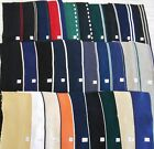 "COLLARS CUFFS 3 per 100% cotton double knit finished edges approx 16""x4"" stripes"