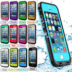 For Apple iPhone 5 5S Waterproof Shockproof Dirt Proof Durable Case iPhone Cover