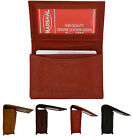 Genuine Leather Expandable Pocket Credit Card ID Business Card Holder Wallet