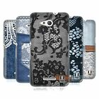 HEAD CASE DESIGNS JEANS AND LACES HARD BACK CASE FOR SONY XPERIA E4G