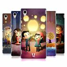 HEAD CASE DESIGNS AGLOW WITH LOVE HARD BACK CASE FOR SONY XPERIA M4 AQUA