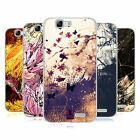 HEAD CASE FLORAL DRIPS SOFT GEL CASE FOR HUAWEI ASCEND G7