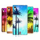 HEAD CASE SUMMER SILHOUETTES SOFT GEL CASE FOR SONY XPERIA M4 AQUA