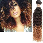 "2015 Hot Sale Bundle Brazilian Hair Extension 10""-30"" Ombre Remy Hair Curly Wave"