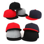 3~7 Years Kids Boys Baby Girls Plain Solid Color Baseball Cap Snapback Hats