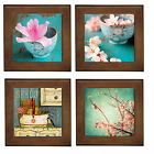 OzSeller VINTAGE CHERRY CHIC CERAMIC FRAMED HOME DECOR TILE/DECORATIVE WALL ART