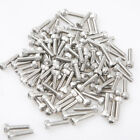Metric Thread M3 Stainless Steel Hex Bolt Kit 304 Cap Nut Washer Set Screw 100PC