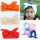 Bunny Rabbit Bow Knot Turban Baby Toddler Girls Kid Headwrap Headband Hair Band