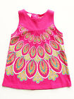 Desigual Kids Ohio Baby Girls Dress Fushcia Cotton Sleeveless $29 NWT