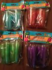 US Selller Fast Shipping 24 Pack Plastic Luau Party Shot Glasses