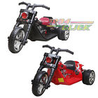 6V Electric Kids Twin Motor Hawk Ride on Bike Children Motorbike Chopper Trikes