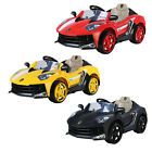 New 12V Battery Aventador Electric Kids Ride On Car Parental Control MP3