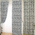 Creative Design Door Window Curtains Newspapers Print Drape Panel Valance Drapes