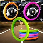 "14""- 16"" Universal Soft Silicone Car Steering Wheel Cover Skidproof Odorless Eco"