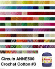 Circulo ANNE500 Crochet Cotton Knitting Yarn Variegated #3 500m 150g