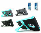 for Samsung Galaxy Note Edge EXO Dual Layer Kickstand Phone Case + 2 Screen Film