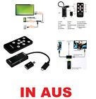 MICRO USB MHL to HDMI HDTV MHL ADAPTER + Remote Controller For SAMSUNG GALAXY