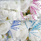 144 Faux PEARL SPRAYS Wedding DIY Party Crafts Decorations Favors SALE