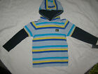 BOYS SIZE 6 7 MULTI SIZE QUIKSILVER HOODIE LONG SLEEVE SHIRT TOP - BNWT