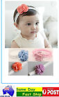 Cute Floral Cotton Headbands Hair Accessories Band Toddlers Baby Children girls