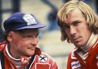 JAMES HUNT AND NIKI LAUDA 02 (FORMULA 1) PHOTO PRINT