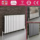 CHROME WHITE ANTHRACITE FLAT PANEL HORIZONTAL MODERN DESIGNER RADIATOR HEATER