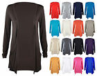 DIVADAMES Womens Stretch Fit Cardigan Ladies Pocket Jumper Plain Long SleeveTop