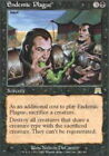 [1x] Endemic Plague - Foil [x1] Onslaught Near Mint, English -BFG- MTG Magic