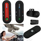 Multipoint Wireless Hands Free Bluetooth V4.1 In-car Kit Speakerphone Visor Clip