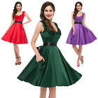 New Vintage 50s dress Rockabilly short Prom Party Dresses Summer Cocktail dress