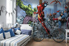 368x254cm Giant wall mural wallpaper childrens room Avengers comics super heroes