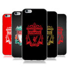 OFFICIAL LIVERPOOL FC LFC CREST 2 SOFT GEL CASE FOR APPLE iPHONE PHONES