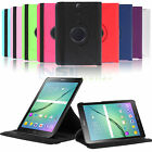 PU Leather Rotating Smart Cover Stand Case for Samsung Galaxy Tab S2 T715 T815