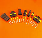 AMP Superseal Waterproof Electrical Connector Kits - 1 2 3 4 5 6 Way - 12/24v
