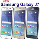 "Samsung Galaxy J7 (16GB) J700H, 5.5"" - DUAL SIM 4G H+ GSM Factory Unlocked Phone"