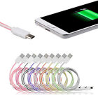 Colorful Micro USB Data Charger Cable for Samsung Galaxy S4 S3 HTC Sony LG Nexus