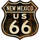 Route 66 New Mexico Distressed Wall Decal Garage Vintage Style Decor