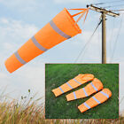"30"" 40"" 60"" Airport Windsock Rip-stop Outdoor Wind Measurement + Reflective Belt"
