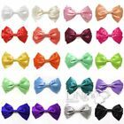 Large Satin Hair Bows Hair Clips for Women And Teens 15+Colors