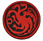 Targaryen Dragon / Game of Thrones 3 inch Round Patch Miltary Morale Funny Patch