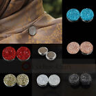 Magnetic Hijab Pin Headscarf Abaya Clasp Brooch Shawl Magnet Scarf Pin Fashion
